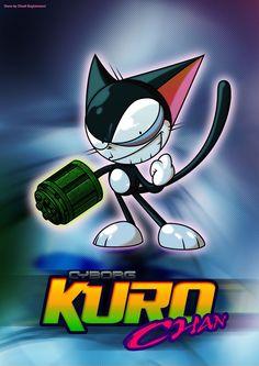 Nonton Cyborg Kuro-chan subtitle indonesia.