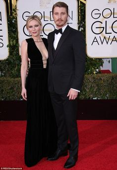 A strong romance: Kirsten Dunst and Garrett Hedlund have been together for four years