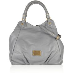 Marc by Marc Jacobs Classic Q Francesa textured-leather tote ($538) ❤ liked on Polyvore