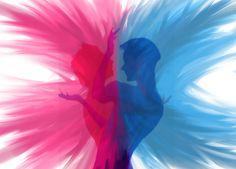 El varón y la mujer son la dualidad exacta para la comprensión de lo humano.  Son distintos pero se complementan entre si  para la creación de más vida mediante su unión en la familia, reflejando una característica única: el amor.