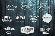 Vintage Logo Bundle (All 3 Volumes) ~ Logo Templates on Creative Market