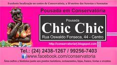 Conservatória Pousadas Hotéis: Pousada em Conservatória Chic Chic - centro de Con...