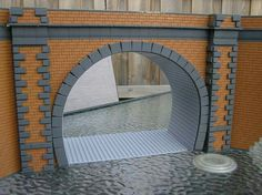 * baseplates for tunnel curve!