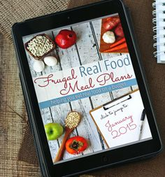 Frugal Meals for cooking with whole foods, and encouragement to browse your own dinner recipes and make a special folder. Make a frugal meal at least once a week!