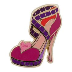Disney Divas Runway Shoe Pin Set