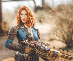 I am so in love with the photos of our Fallout Photoshoot 😍 This Weekend I will be at for Bethesda. I think I will also be in… Fallout Theme, Fallout Art, Cosplay Armor, Cosplay Costumes, Cosplay Ideas, Fallout Raider, Skyrim Fanart, Lightning Cosplay, Fallout Concept Art