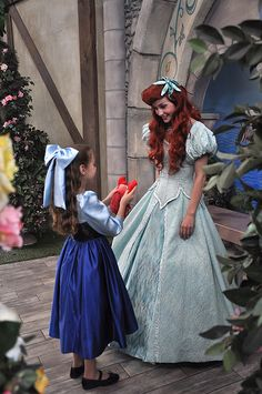 "Precious. The ""Kiss the Girl"" dress is actually my favorite one Ariel wears, second is the sparkly light blue one :)"