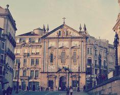 Igreja dos Congregados, Porto.🇵🇹 irene couso Irene, Portugal, Louvre, Building, Travel, Porto, Viajes, Buildings, Destinations