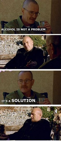 What if Walter White just told bad chemistry jokes?