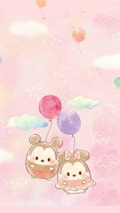 Disney phone wallpaper, mickey mouse wallpaper, kawaii wallpaper, cartoon w Tsum Tsum Wallpaper, Mickey Mouse Wallpaper, Disney Phone Wallpaper, Kawaii Wallpaper, Wallpaper Iphone Cute, Cute Disney Drawings, Cute Drawings, Arte Disney, Disney Art