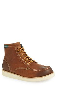 Eastland 'Wyatt 1955' Moc Toe Boot (Men) (Nordstrom Exclusive) available at #Nordstrom