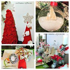 christmas crafts | Pandora's Craft Box: Friday Recap of DIY Christmas Crafts