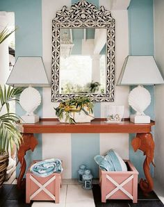 19 Chic Ways to Use Coral in Your Home via @PureWow