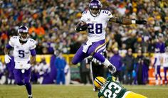 Adrian Peterson VS. Packers 1-3-16