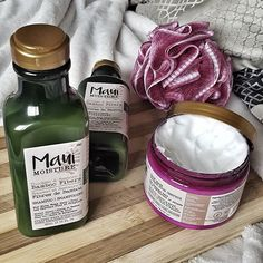 My review on my favorite (best) drugstore brand for haircare products! Maui moisture!