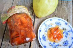 Dulceață de gutui pentru iarnă - fără conservant   Savori Urbane Cantaloupe, Pudding, Urban, Fruit, Vegetables, Desserts, Food, Canning, Tailgate Desserts
