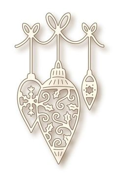 Wild Rose Studio - Die - Hanging Baubles,$18.99