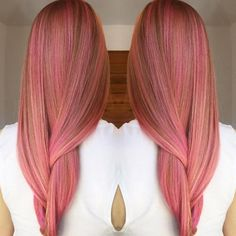 Repost @kellymassiashair | What beautiful color #pink #pinkhair #haircolor #haircolorist #kellymassiashair #hairstylist #hairinspo #imallaboutdahair #modernhair #authentichairarmy #hotonbeauty #maneaddicts #hairofinstagram #beautiful #hairoftheday #barbar #barbarhair #barbarhairtools  by barbarhairtools