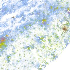 maps the racial dot map one dot per person for the entire us drupal