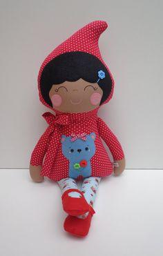 cute ethnic dolls ethnic little red riding by dollsfofurasbyleila