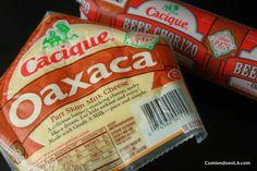 Preparara un delicioso Dip de Chorizo y Queso Oaxaca para tu próxima fiesta.