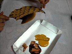 ▶ PINTURA EM TECIDO - Cesto com margaridas - Como pintar cestos - YouTube