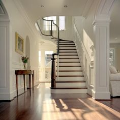STAIRS  Award winning stairwell by Anthony Wilder Design/Build - traditional - entry - dc metro - Anthony Wilder Design/Build, Inc.