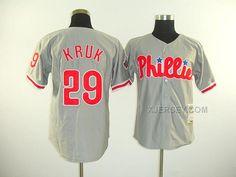 http://www.xjersey.com/phillies-29-kruk-grey-jerseys.html PHILLIES 29 KRUK GREY JERSEYS Only 32.17€ , Free Shipping!