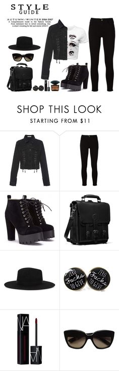 """Style Guide"" by rarah-chan on Polyvore featuring moda, Jonathan Simkhai, Frame, Satya Twena, NARS Cosmetics, Bottega Veneta e Versace"