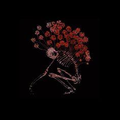 Resultado de imagem para red and black art aesthetic