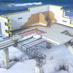 Flood Area Construction Elevated Concrete Building