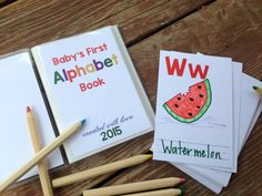 book baby shower (and free printables!) (craftiness is not optional ...
