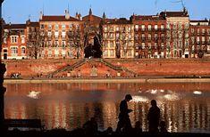 Toulouse, France. prairie des Filtres (bords de Garonne)