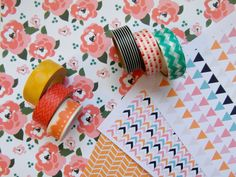 StickyTiger Craft Supplies DIY: Patterned and Printed Fridge Magnets Make Your Own, Make It Yourself, Washi Tape, Craft Supplies, Magnets, Shapes, Printed, Simple, Pattern