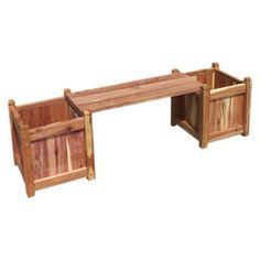 Planter & Bench - for the back yard