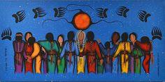 Akina Awiyag Noojimowin (Healing All Nations)   Artist: Simone McLeod