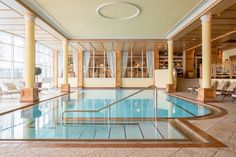 Astoria Resort (Seefeld in Tirol, Austria) Lobby Lounge, Hotel Lobby, Resort Villa, Luxury Spa, Beautiful Hotels, Modern, Indoor, Mansions, House Styles