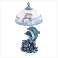 Dolphin Lamp   Free Shipping!