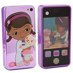 Disney Doc McStuffins Cell Phone Toy | Disney StoreDoc McStuffins Cell Phone Toy - She'll check-in for all her playtime appointments with this toy cellphone featuring light-up buttons, lenticular screen, Doc McStuffins phrases and sounds. Doc's plan offers full coverage for fun times!