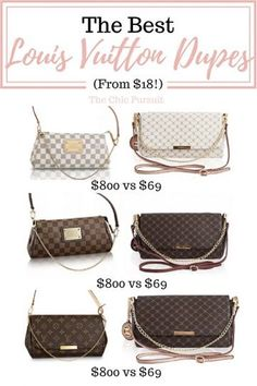 1cf22313f4a3 The Best Louis Vuitton Dupes That Money Can Buy(For Under  70!) Purses And  HandbagsFashion HandbagsFashion BagsFashion ...