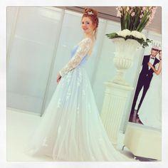 Harrogate Bridal Show 2014 #dajanabasic #pastelwedding #pastelshades #weddingdress #bride http://www.dajanabasic.com