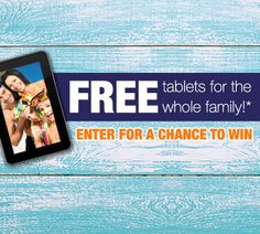 WIN Samsung tablets for the whole family with itravel2000 - Enter Now!