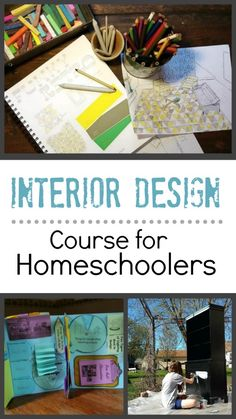 [By far the most impressive concept I've seen for home school! It's a pioneer for all others! ❤] Interior Design Course for Homeschoolers High School Curriculum, Homeschool Curriculum, Homeschooling Resources, Interior Design Classes, Interior Design Living Room, Study Interior Design, Interior Designing, Luxury Interior, Modern Interior
