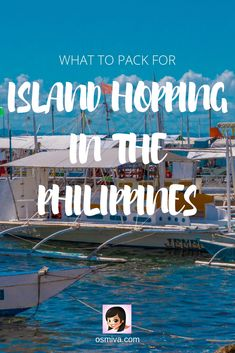 Packing List for Island Hopping in the Philippines. List of items to bring when going on an island hopping adventure including what to bring, what to wear and the accessories you'll need. Asia Travel, Travel Pics, Philippines Travel, What To Pack, Ultimate Travel, Plan Your Trip, Holiday Destinations, Travel Guides, Travel Inspiration