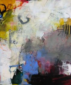 "Image: © Charlotte Foust ""Daydream"" Acrylic on Canvas, 72"" x 60"" by susie"