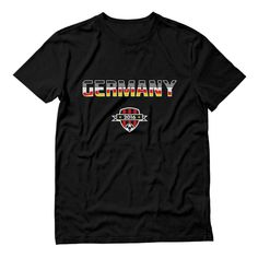 10675756a Germany Soccer Team Deutschland Football T-Shirt