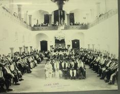 Lebanese Jews praying at the Magen-Abraham Synagogue Inauguration in Beirut 1926 - Lebanon in a Picture Lebanon History, Jewish History, Interesting History, Historical Pictures, Beirut, Old Photos, Pray, Dolores Park, The Past