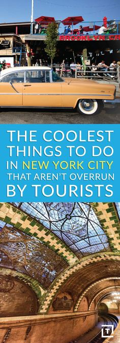 Coolest Things to Do in NYC That Aren't Overrun by Tourists Abandoned City Hall subway station. Usa Roadtrip, Travel Usa, New York City Vacation, New York City Travel, New York Trip, Death Valley, Rockefeller Center, Empire State Building, New York Travel Guide