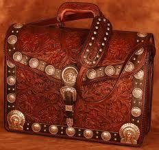 Znalezione obrazy dla zapytania leather art bags