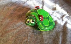 Image result for Turtles or Frogs Painted On Rocks